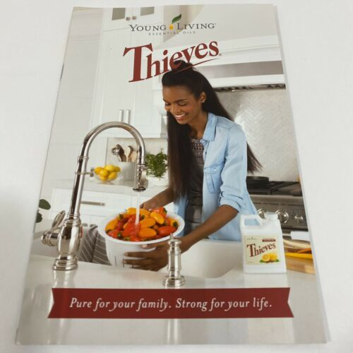 Primary image for Young Living Essential Oils Thieves Brochure Booklet New