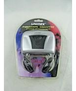 BRAND NEW UNIREX Cassette tape Player RX-15 -Vintage - $26.71