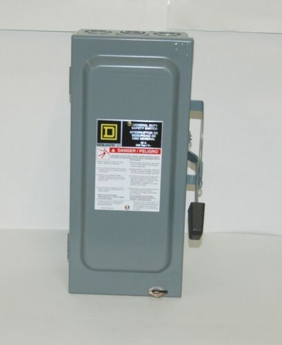 Square D D222N General Duty Purpose Safety Switch 240 VAC