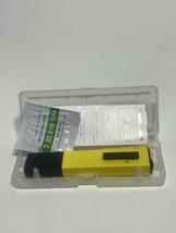 Digital PH Meter Portable Pool Water Aquarium Urine Pen Tester Auto Cali... - £11.11 GBP