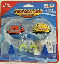 Power Your Fun Turbo Tops Mini Gyro Spinning Tops for Kids – Mini Cars - $8.81
