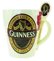 Guinness Classic Red Collection Ceramic Mug and Spoon Set - $15.97