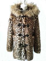 Women's New Winter Style Hooded Leopard Faux Fur Coat image 3