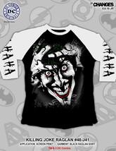 Killing Joke Dc Comics Joker Ha Lachen Suicide Truppe Raglan Hemd 48-J41 - $21.02
