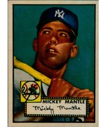 Lot of 5 Mickey Mantle 1952 Topps #311 Rookie Reprint Cards New York Yan... - $5.94