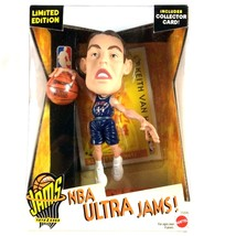 Keith Van Horn 1999 Mattel NBA Ultra Jams New Jersey Nets Figure Sealed - $19.75