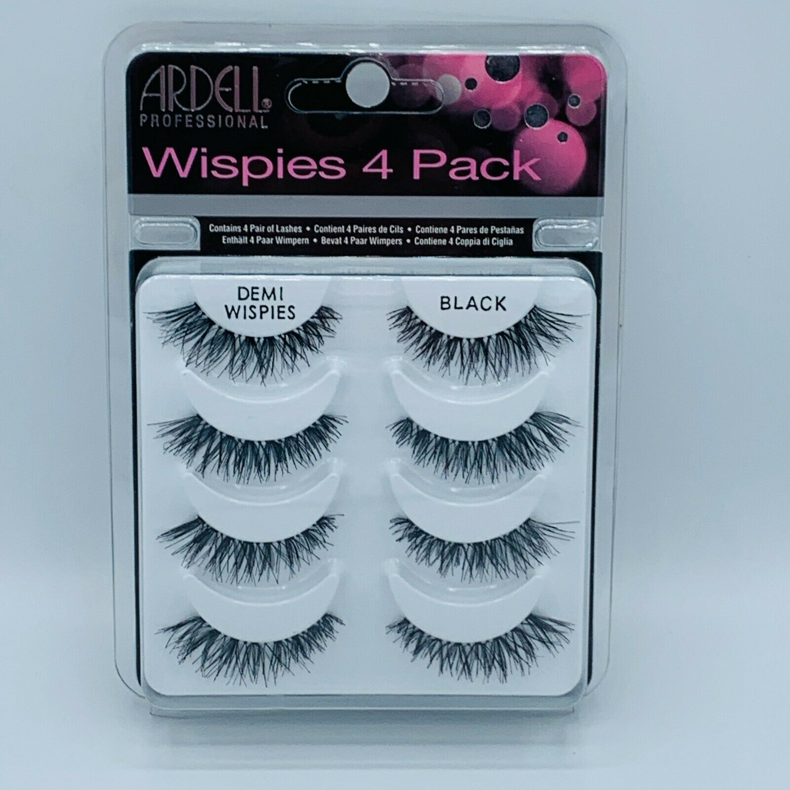 Primary image for Ardell Professional Eyelashes Wispies 4 Pack New