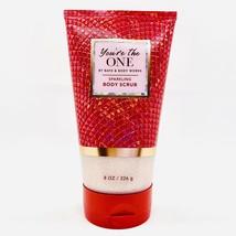 1 Bath & Body Works YOU'RE THE ONE Sparkling Body Scrub 8 oz New - £14.04 GBP