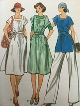 Vogue Sewing Pattern 9528 Misses Dress or Tunic and Pants Vintage Retro ... - $17.99