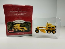 Hallmark 1998 Keepsake Ornament Yellow Tonka Road Grader - $9.65