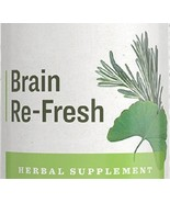 BRAIN RE-FRESH Herbal Tonic Blend Formula for Mental Clarity Thought & F... - $22.51+
