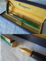 WATERMAN APOSTROPHE Fountain pen lacque green color + gift box Original - $64.00