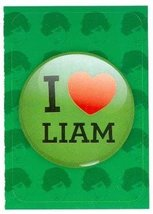 I Love Liam Payne sticker trading card (One Direction 1D) 2013 Panini #9 - $4.00