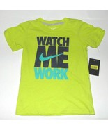 Nike Toddler Boys Green T-Shirt Watch Me Work Size 2T NWT - $16.48