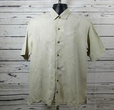 Tommy Bahama 100% Silk SS Casual Button Down Camp Shirt Size: M