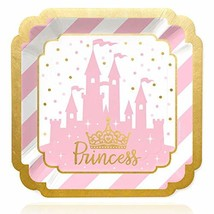 Little Princess Crown with Gold Foil - Pink and Gold Princess Baby Showe... - $17.48