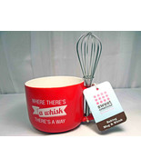 Sweet Creations by Good Cook Oven-Safe Baking Mug and Whisk - $22.90