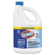 Concentrated Germicidal Bleach, Regular, 121oz Bottle, 18/carton - $309.65