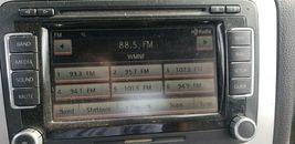 Volkswagen Golf Jetta CC EOS CD Satellite Player Radio Stereo 3co-035-684 image 8