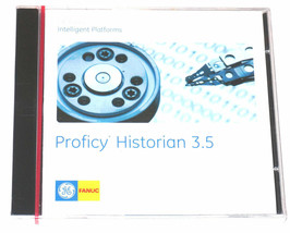 NEW SEALED GE FANUC PROFICY HISTORIAN 3.5 SOFTWARE