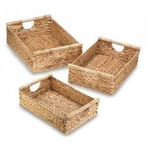 Water Hyacinth Nesting Basket Set - $70.95