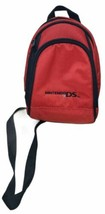 Official Nintendo DS Handheld System Travel Bag Mini Red Backpack Carry ... - $12.76