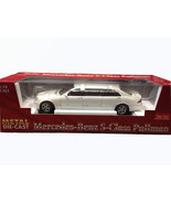 Sun Star white Mercedes-Benz S-Class Pullman DIECAST SCALE 1:18 #2203 - $127.50