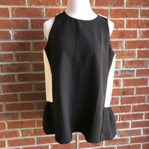 NWT! $69 Ann Taylor Color Block Swing Shell Sleeveless Top - Size M - $29.09
