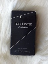 Calvin Klein ENCOUNTER Eau de Toilette .5 fl. oz. for Men MINI Travel - $8.59