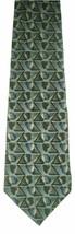 """George Machado Zylos Men's Silk Neck Tie Blue Black Gray Beige 62""""L NWOT - $7.91"""