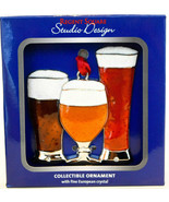 Regent Square Design Studio - 3 Glasses of Beer - 2019 Gift Ornament - $12.46