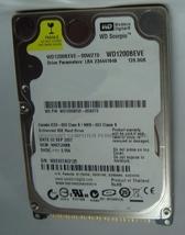 """WD WD1200BEVE 120GB IDE 44PIN 2.5"""" 9.5MM 5400RPM Hard Drive"""