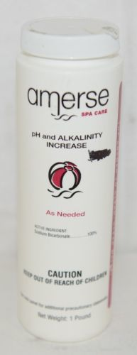 Amerse Spa Care PH And Alkalinity Increase One Pound Sodium Bicarbonate