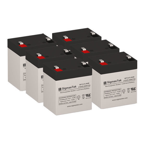 APC RBC141 UPS Battery Set (Replacement) - Batteries By SigmasTek - $104.37