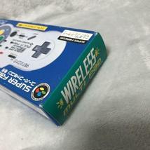 Yonezawa Nintendo Super Famicon Wireless Multi Pad Controller 1993 New Non Usato image 5