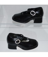 Coco Jumbo Mary Jane 3678 Girls Dressy Black Shoes Size 5 - $14.99