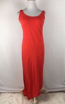 C&C California Anthropologie Orange Open Back Fitted Sheath Dress Size S... - $27.35