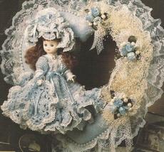 Victorian Dolls Sweetheart Doll Wreaths Annie's Attic Crochet Patterns  - $2.99