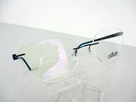 Silhouette Titan Accent 4548(4542) 6063 (Teal / Lemon) 55 x 19 Eyeglass Frames - $163.58