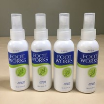 Lot of 4 Avon Foot Works Antifungal Foot Spray, 3.4 Ounces - $19.79