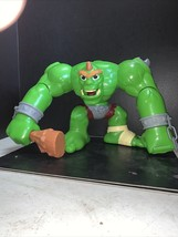 """Imaginext Eagle Talon Castle Green OGRE Monster with Club 10"""" WORKS Sounds Troll - $54.44"""