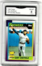 GARY SHEFFIELD 1990 TOPPS  ALL STAR ROOKIE #718  GRADED NM-MT - $18.81