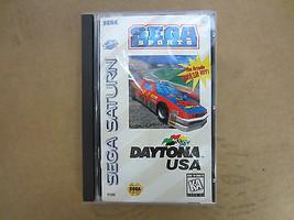 Daytona USA Videogioco Sega Saturn Raro Originale Custodia - $38.67