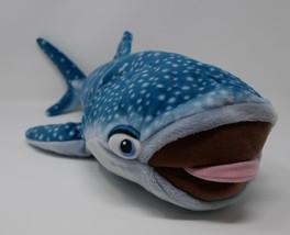 "Disney Store Finding Dory Destiny Whale Shark 22"" Plush Stuffed Toy - $18.69"