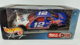 Hot Wheels Racing Race Day Deluxe 2000 Edition NIB Die Cast Car #12 Nascar - $14.80