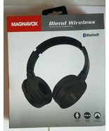 NEW Magnavox MBH542 Blend Wireless Bluetooth Folding Headphones-Black - $12.50