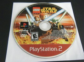 LEGO Star Wars: The Video Game - Greatest Hits (Sony PS 2, 2005) - Disc ... - $6.29
