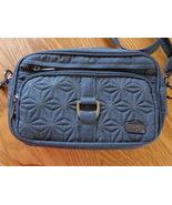 Lug Carousel CrossBody Waist Belt or Shoulder Bag RFID Protected Slate ... - $45.99