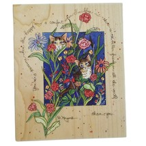 You're a Treasure D Morgan Rubber Stamp Stamps Happen 90050 Cats in Flow... - $12.60