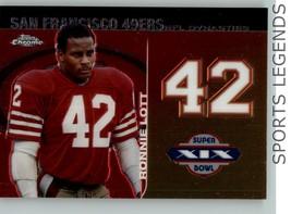 2008 Topps Chrome NFL Dynasties DYN-RL Ronnie Lott - $1.00